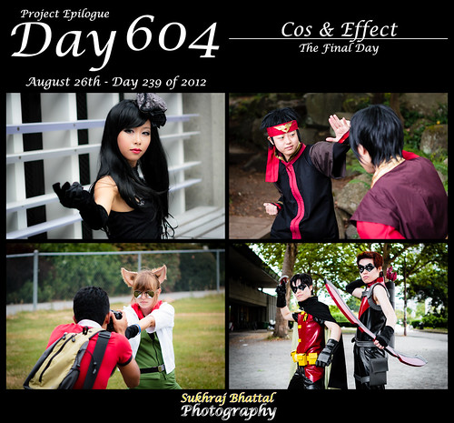Day 604 - The Final Day of Cos & Effect by SukhrajB