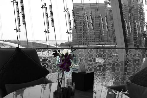 View from Etihad Towers, Abu Dhabi