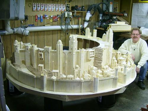 Beginning of Minas Tirith Model