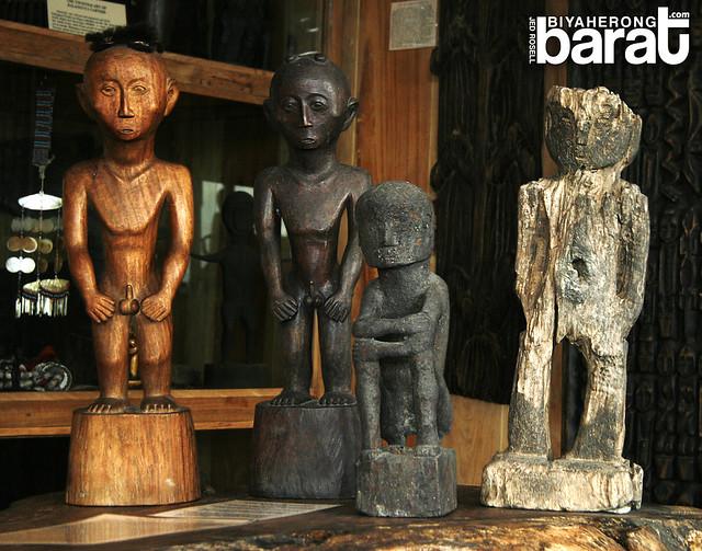 Cordillera Sculpture Museum the ages of bulul
