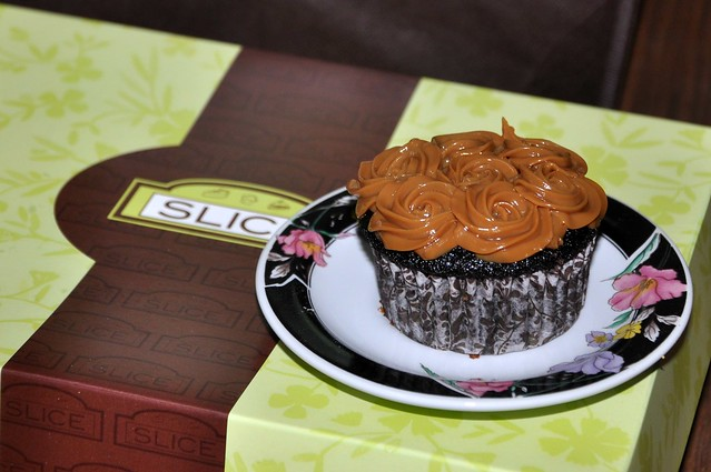 Yema Cupcake from Slice Cafe