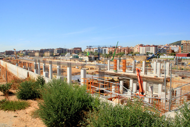 Zona nueva estación de La Sagrera - 14-09-12