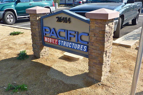 Pacific Mobile Monument Sign