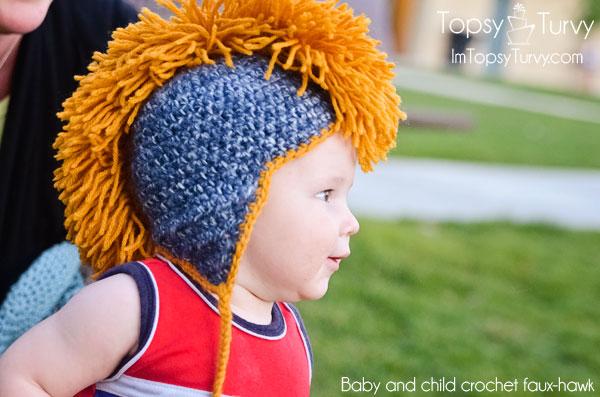 baby-child-crochet-faux-hawk-earflaps