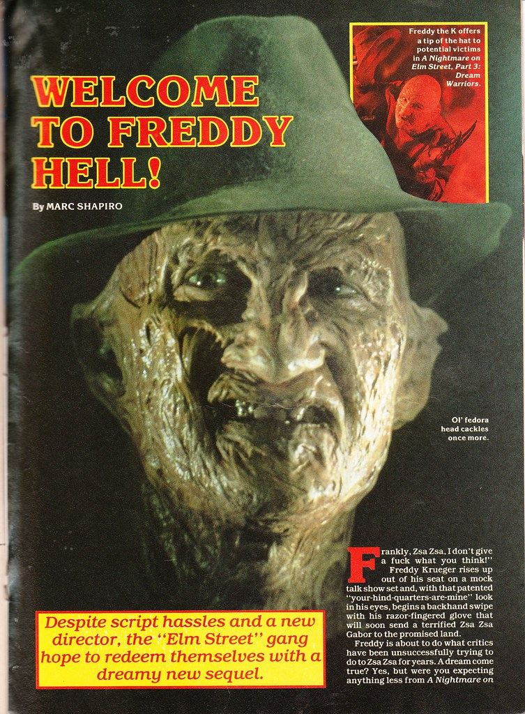 Fangoria 62 Nightmare 3 1