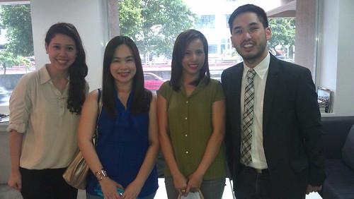with Joy, Kim and Jaton Zulueta