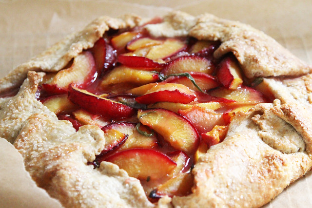 plum crostata cooked 2