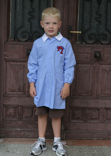 Connor's first day of School