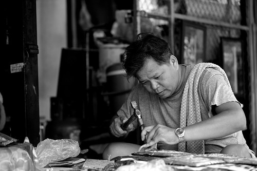 SILVER WORKER , Chiang Mai