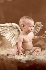 地上に降りた天使