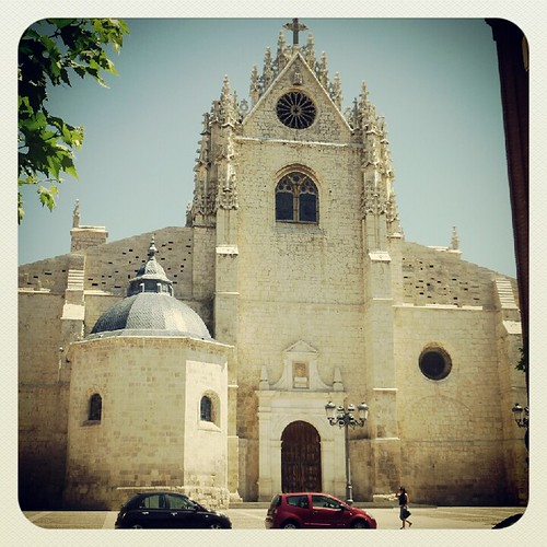 West front of Palencia's Cathedral