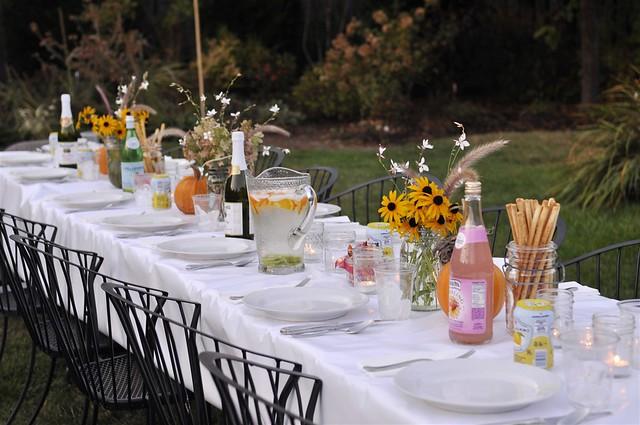 October Outdoor Wedding Ideas