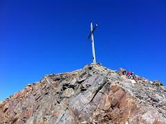 Gipfelkreuz Große Windschar 3.041 m