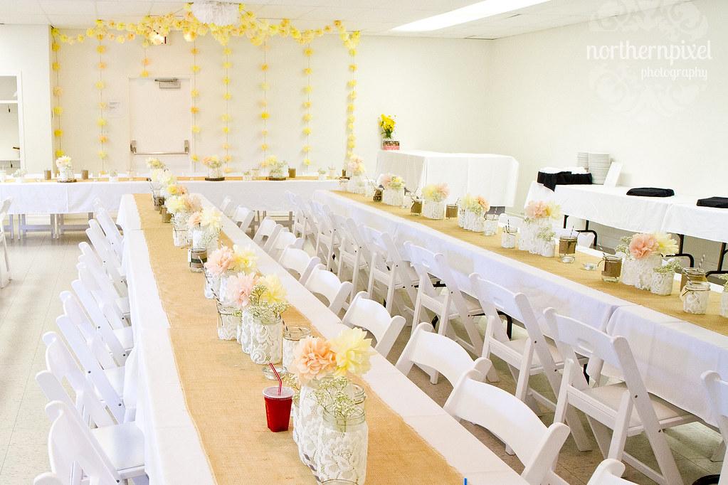 DIY Wedding Reception - Prince George BC