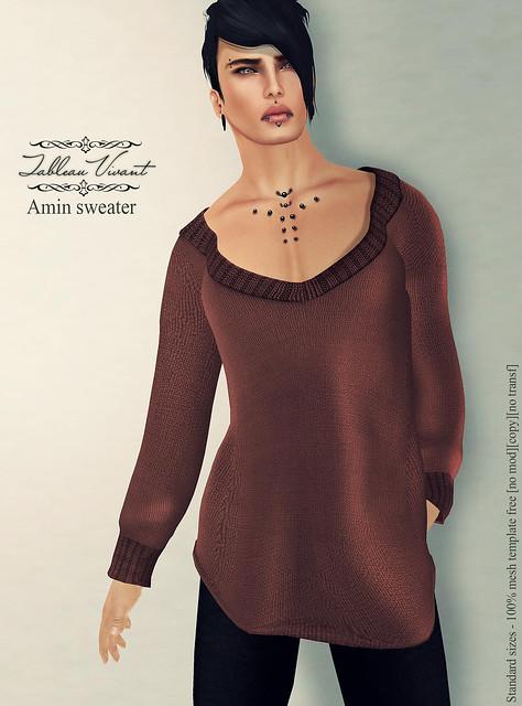 ~Tableau Vivant~ Amin sweater-AD