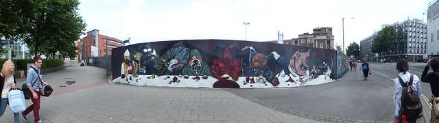 GRAFFITI-Temple Meads, Bristol