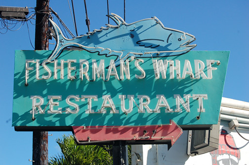 Fisherman's Wharf sign