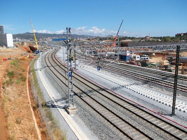 Zona puente del trabajo - Riera de Horta - 01-09-12