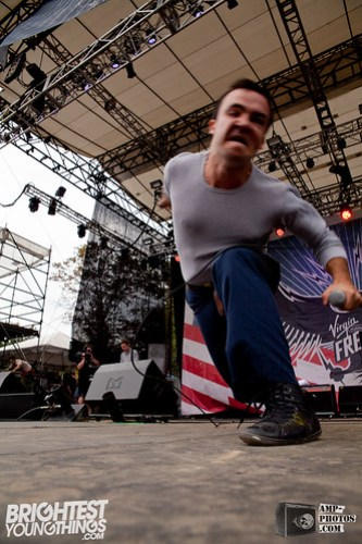 Future Islands - Virgin Freefest '12