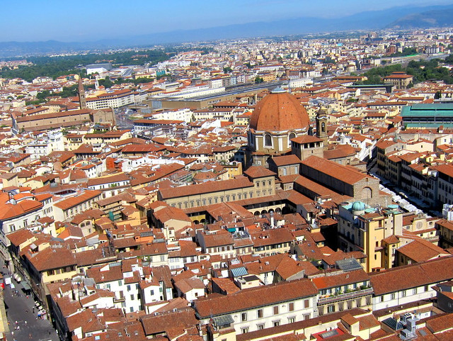climb up the Giotto's bell tower (campanile)