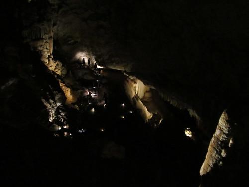 jewel cave, top to bottom