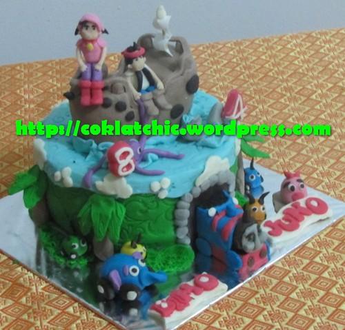 Cake jungle Junction, Jack in the neverland island dan thomas