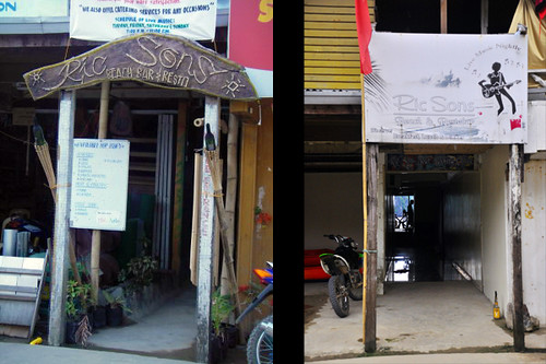 Ricsons Bar & Restaurant, El Nido, Palawan