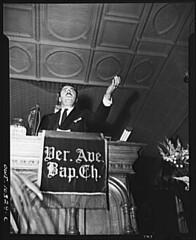 Rev. Adam Clayton Powell, Jr. Denounces Transit Hiring: 1942