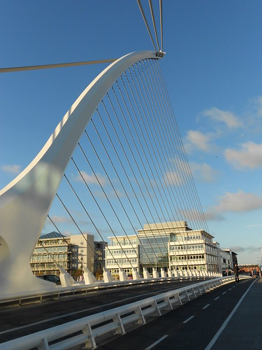 The 'harp' bridge