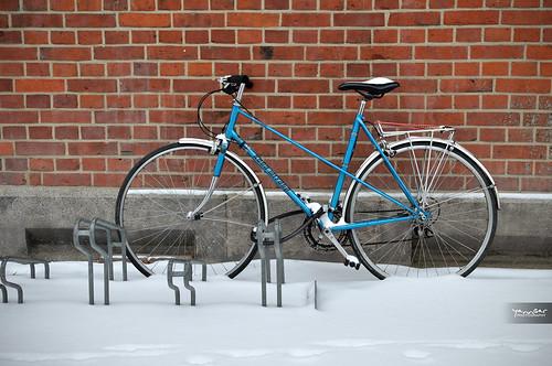 Snow Bike by YannGarPhoto.wordpress.com