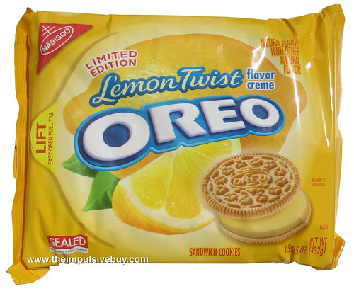 Nabisco Limited Edition Lemon Twist Oreo