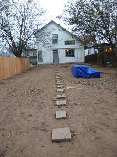 12-14-12 TX - Austin, Backyard Fence 11