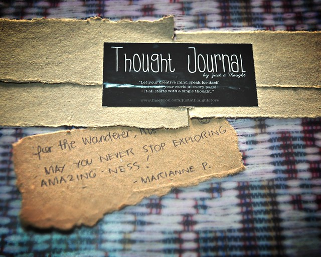 Thought Journal  from Marianne P.