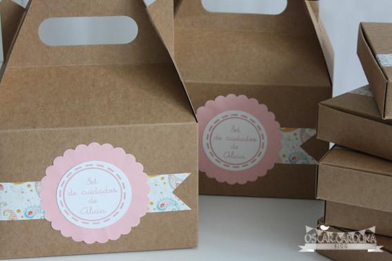 packaging bautizo