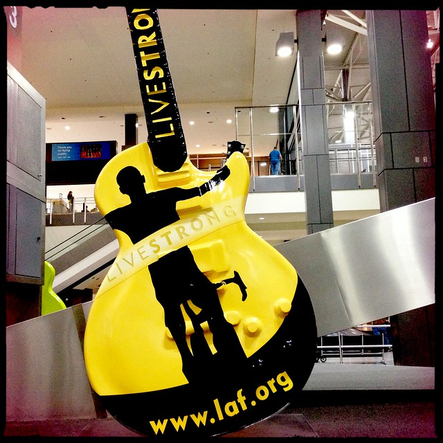 Livestrong guitar in AUS