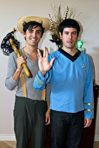 Huck Finn and Spock