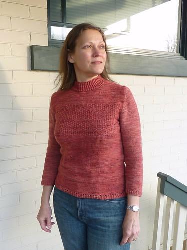Winterberry pullover