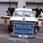Northern Constabulary early livery - Morris Ital van