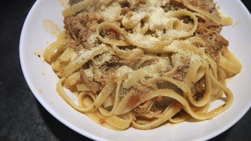 Pork Ragu with Fettucine 21