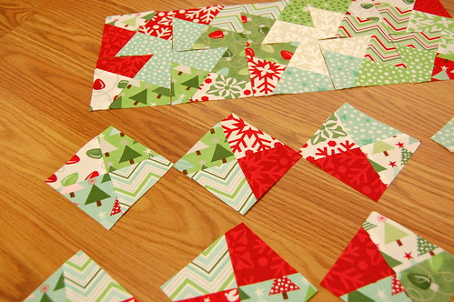 CUT ALL THE SQUARES!