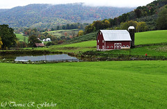 West Virginia Farm in Fall