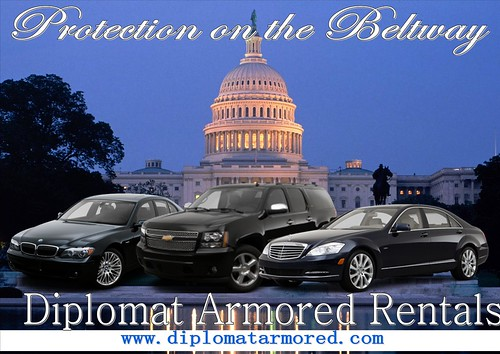 Armored vehicles for rent in Washington DC by diplomatarmored