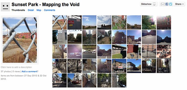 Mapping The Void