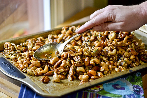 Chipotle & Rosemary Roasted Nuts 13