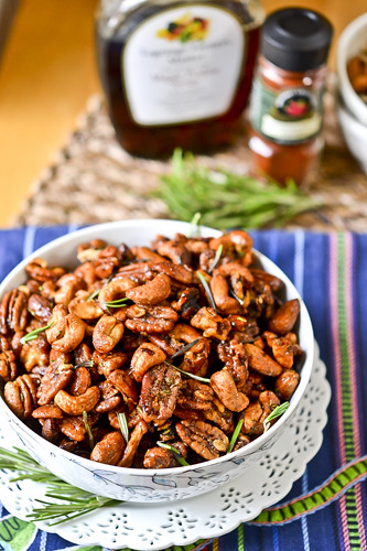 Chipotle & Rosemary Roasted Nuts 4