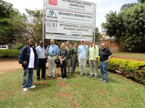Students visit ILRI-Kampala