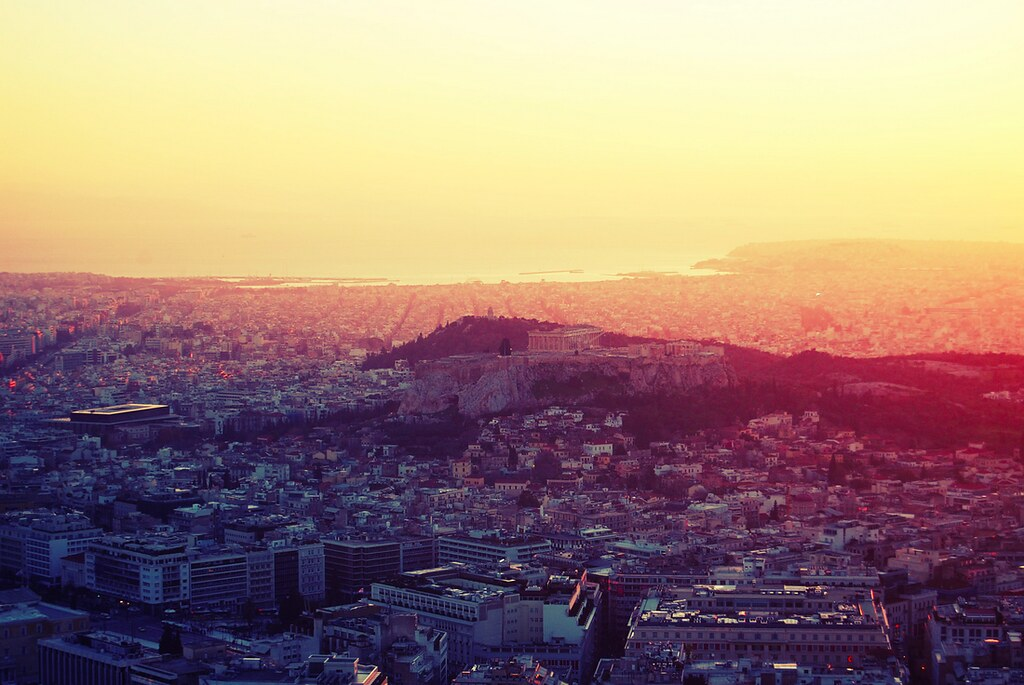 Sunset Acropolis
