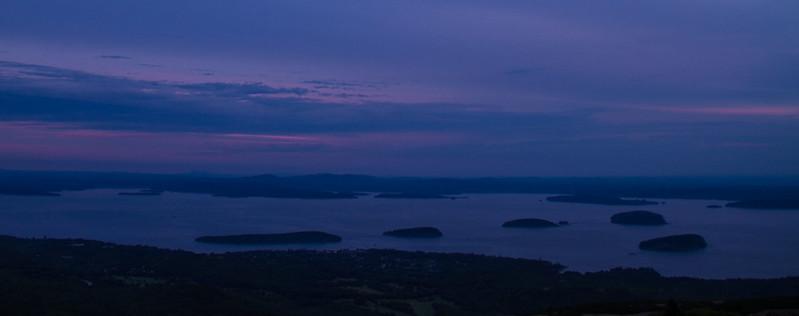 Porcupine Islands at Sunset