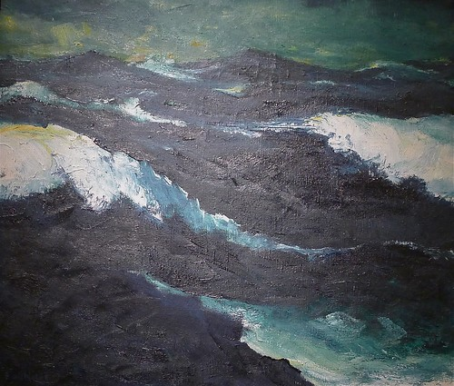 "Emil Nolde: ""The Sea #3"""