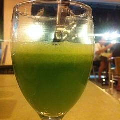 Celery & cucumber juice